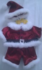 Adorable 'Father Christmas' 3-Piece Build-a-Bear Outfit